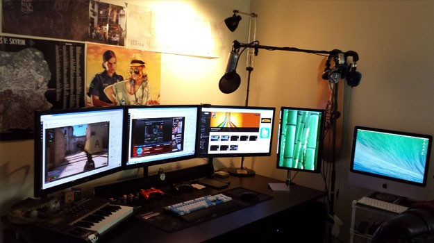 setting up a streaming workstation